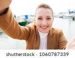 portrait of beautiful young...   Shutterstock . vector #1060787339