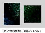 dark blue  greenvector layout...