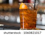 closeup of a glass of a fresh... | Shutterstock . vector #1060821017