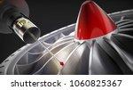 measuring probe for measuring a ... | Shutterstock . vector #1060825367