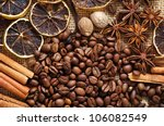 Aroma Spice And Coffee Bean