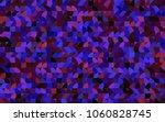 dark blue  red vector pattern... | Shutterstock .eps vector #1060828745