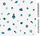 cute seamless cosmic pattern in ... | Shutterstock .eps vector #1060868684