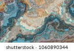the tile of turquoise raw... | Shutterstock . vector #1060890344