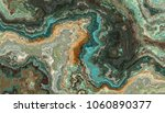 the tile of turquoise raw... | Shutterstock . vector #1060890377