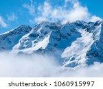 popular french ski resort les 2 ...   Shutterstock . vector #1060915997