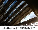 Small photo of Train station roof