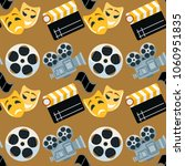 cinema genre cinematography... | Shutterstock .eps vector #1060951835