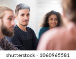 meeting at college  . a working ...   Shutterstock . vector #1060965581