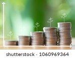 infographics of money ... | Shutterstock . vector #1060969364