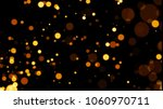 abstract golden glitter light... | Shutterstock . vector #1060970711