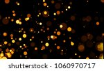 abstract golden glitter light... | Shutterstock . vector #1060970717