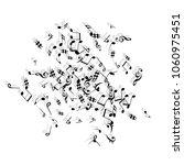 musical signs. modern... | Shutterstock .eps vector #1060975451