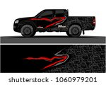 truck graphic kit. abstract... | Shutterstock .eps vector #1060979201
