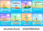 forever summer collection of... | Shutterstock .eps vector #1060980464