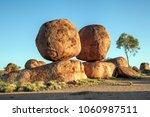 karlu karlu  devils marbles... | Shutterstock . vector #1060987511