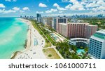 aerial view of south beach ...   Shutterstock . vector #1061000711