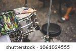 outdoor drum set | Shutterstock . vector #1061024555