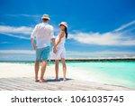 young happy family having fun... | Shutterstock . vector #1061035745