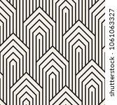 vector seamless pattern. modern ... | Shutterstock .eps vector #1061063327