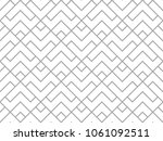 the geometric pattern with... | Shutterstock . vector #1061092511