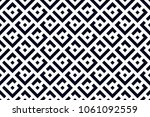 abstract geometric pattern with ... | Shutterstock . vector #1061092559