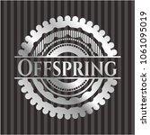 offspring silver emblem or...   Shutterstock .eps vector #1061095019