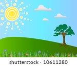 spring view | Shutterstock .eps vector #10611280