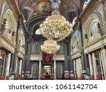 valencia   spain   06.06.2014 ... | Shutterstock . vector #1061142704