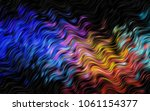 dark multicolor  rainbow vector ... | Shutterstock .eps vector #1061154377