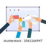business task planning ... | Shutterstock .eps vector #1061166947