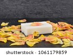 natural cosmetics and rose... | Shutterstock . vector #1061179859