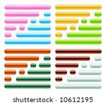 button icon set | Shutterstock . vector #10612195