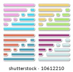button icon set | Shutterstock . vector #10612210
