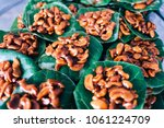 thai style cashews with sweet... | Shutterstock . vector #1061224709