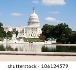washington dc capitol   usa | Shutterstock . vector #106124579