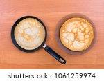 blini   traditional russian... | Shutterstock . vector #1061259974
