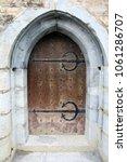 Medieval Door To Castle