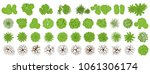 trees top view for landscape... | Shutterstock .eps vector #1061306174