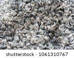gary wool texture background ... | Shutterstock . vector #1061310767