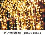vintage tone  blurred... | Shutterstock . vector #1061315681