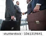 closeup.meeting business... | Shutterstock . vector #1061319641
