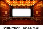 a cross section upclose view... | Shutterstock . vector #1061326001