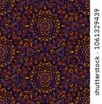 seamless illustration of ethnic ... | Shutterstock .eps vector #1061329439