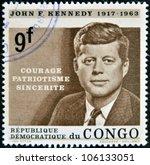 Congo   Circa 1964  A Stamp...