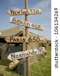 World War Ii Replica Signs To...