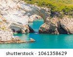 scenic view of san felice bay... | Shutterstock . vector #1061358629