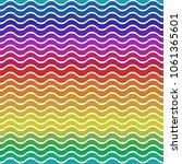 colorful spectrum lines...   Shutterstock .eps vector #1061365601