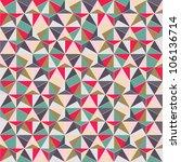 Geometric Triangle Shape...