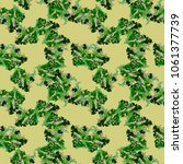 unusual ufo camouflage  ...   Shutterstock .eps vector #1061377739